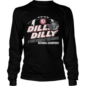 Dilly Dilly Alabama Crimson Tide A True Friend of the crown National Champions shirt