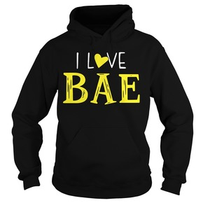 Official I love bae shirt