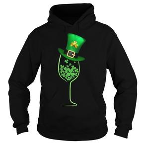 Wine shamrock Irish shirt
