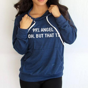 99% Angel Oh, But that 1 Hoodie