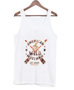 American wild mustang est 1999 tank top Bc19