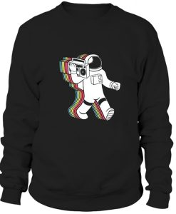 Astronaut Sweater 90s Sweatshirt 80s clothing sweatshirt BC19