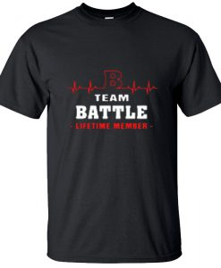 B Heartbeat Team Battle Lifetime Member T-Shirt BC19