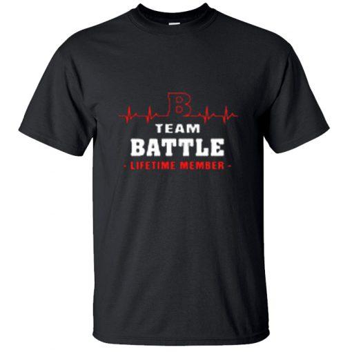 B Heartbeat Team Battle Lifetime Member T-Shirt BC19