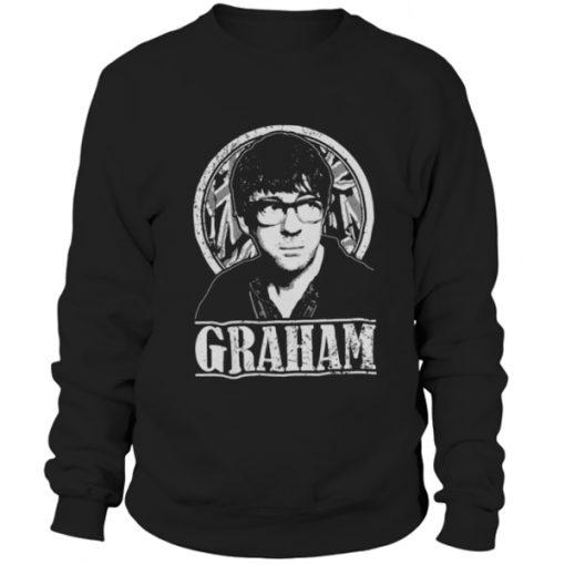 Blur Graham Coxon Tribute sweatshirt BC19