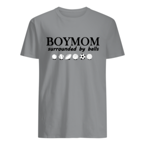 Boy Mom Surrounded By Balls T-Shirt BC19