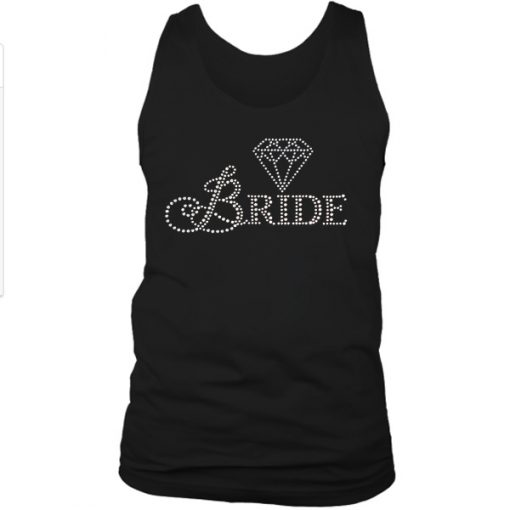 Bride diamond wedding TANKTOP