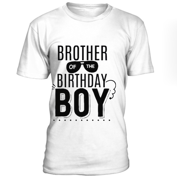 Brother Of The Birthday Boy T Shirt BC19