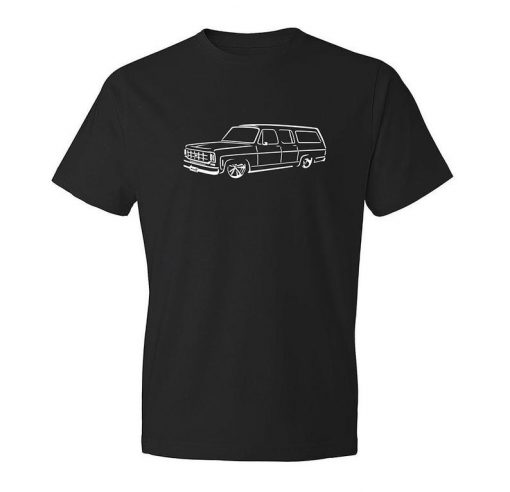 Classic Car Shirt of Chevy Suburban, Unisex, Car Enthusiast, Car T-Shirt BC19