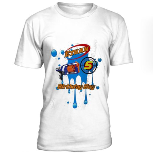 Dart Gun Birthday Costume T-Shirt BC19