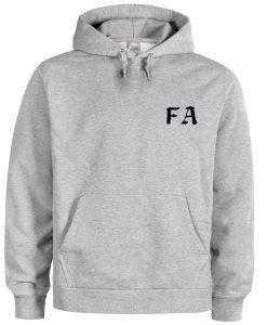 FA font hoodie BC19