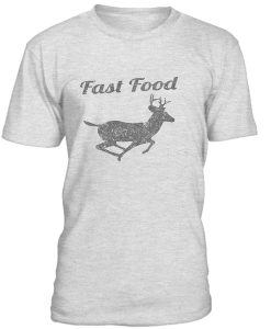 Fast Food Deer T-Shirt BC19