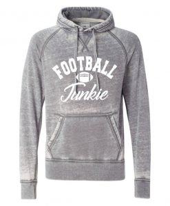 Fottball Junkie. Vintage Hoodie