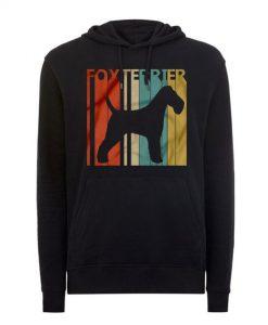 Fox Terrier dog hoodie