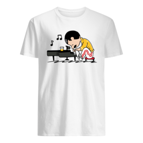 Freddie Mercury Playing Piano Queenuts T-Shirt BC19