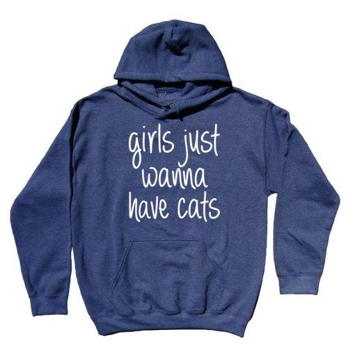 Funny Women Cat Hoodie