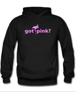 GOT PINK FLAMINGO Tropical Bird Adult Hoodie