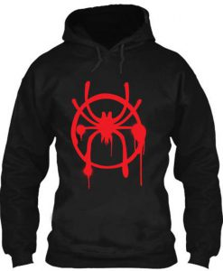 Graffiti Spider - Men's pull over Hoodie