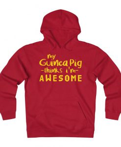 Guinea pig Lover Fleece Hoodie