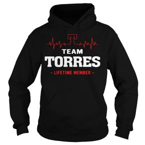 Heartbeat team Torres lifetime member shirt