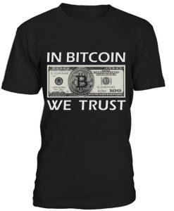 In Bitcoin We Trush T-Shirt BC19