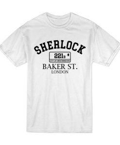 Inspired Sherlock Baker St London 221b Westminster T-Shirt BC19