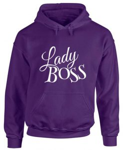 Lady Boss Ladies Hoodie
