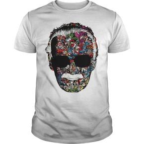 Original Man Of Many Faces Stan Lee T-shirt BC19