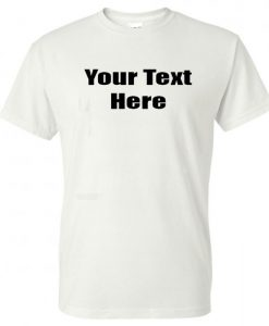 Personalized Custom-Made T-Shirt BC19