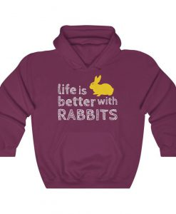 Rabbit Owner Lightweight Hoodie