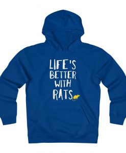 Rat Lover Fleece Hoodie
