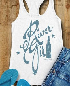 River Girl Racerback Tank Top BC19