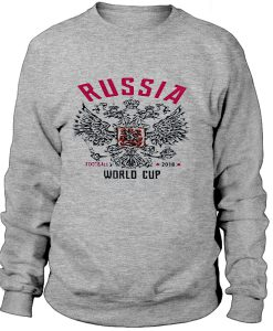 Rusia would cup -Sweatshirt