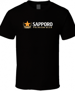 Sapporo Premium Japanese Beer Alcohol T Shirt BC19