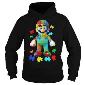 Super Mario Autism Hoodie BC19