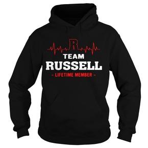 R team Russell lifetime Hoodie BC19
