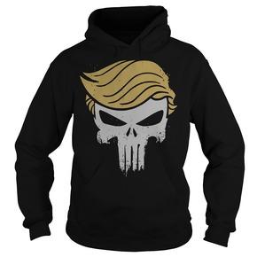 The Punisher skull Trump HOODIE BC19