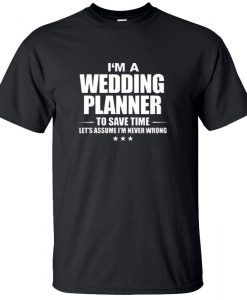 Wedding Planner T-Shirt BC19