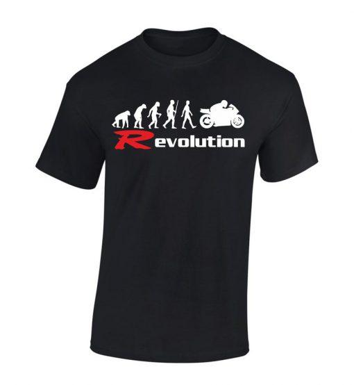 Yamaha Evolution r1 r6 MotorcycleT-shirt BC19