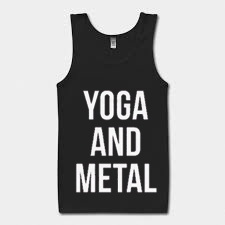 Yoga And Metal Tank Top BC19
