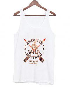 american wild mustang est 1999 tank top BC19