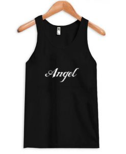 angel font tank top BC19