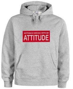 attitude hoodie BC19