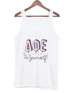 be yourself AQE tank top BC19