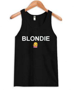 blondie emoji tanktop BC19