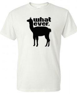 llama what ever Short-Sleeve Unisex T-Shirt BC19