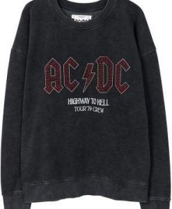 Ac/dc sweatshirt - Women