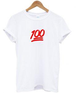 100 t-shirt BC19