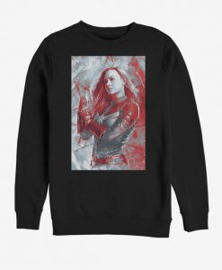 Marvel Avengers Endgame Captain Marvel Sweatshirt