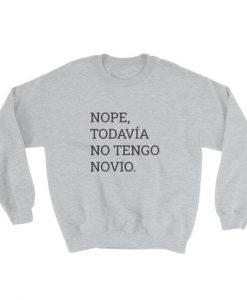 Nope, Todavía No tengo Novio Sweatshirt